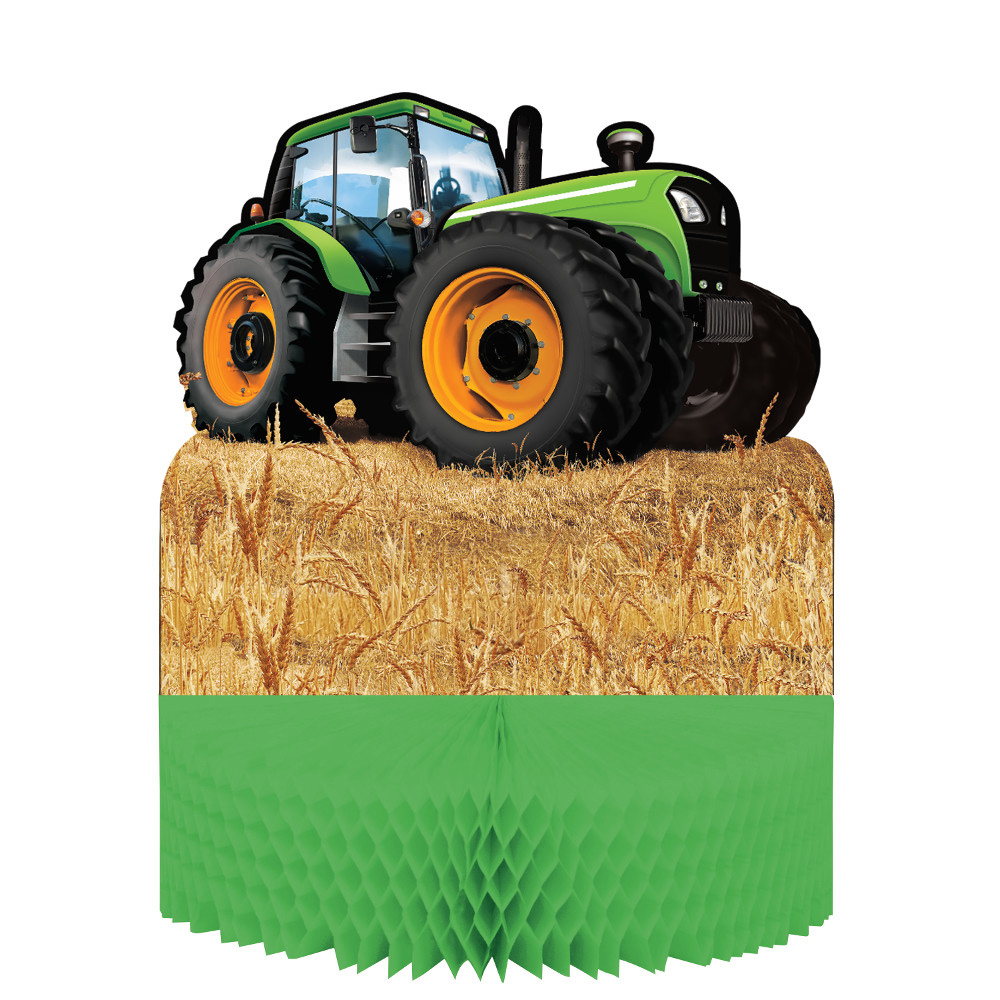 Tractor Time Centerpiece