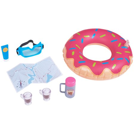 My life as 7-piece snow tubing play set, designed for ages 5 and - My Dress Up Shop