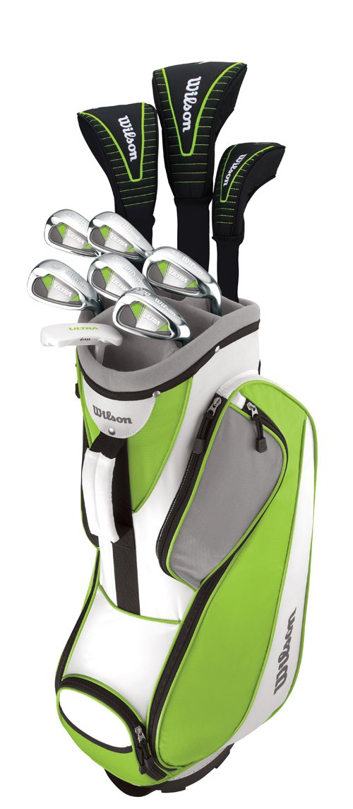 Wilson Ultra Women's Standard Right-Handed Golf Club Set With Bag | WGGC25100 by