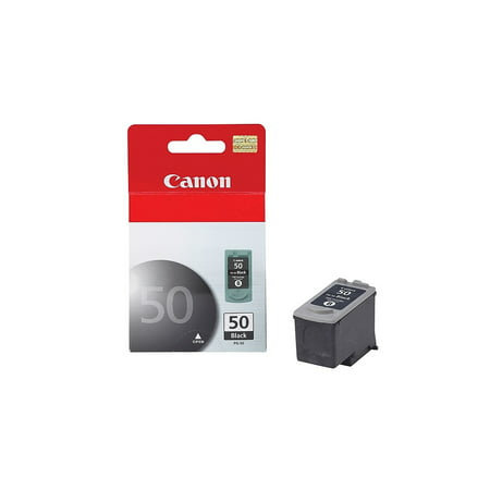 Canon PG-50 Black Ink Cartridge (0616B002), High Yield Canon PGI-50 Black ink cartridge is designed to deliver the best image quality and reliable document printing. Toner cartridge is compatible with PIXMA series printers.