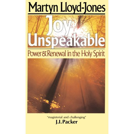 Joy Unspeakable : Power and Renewal in the Holy