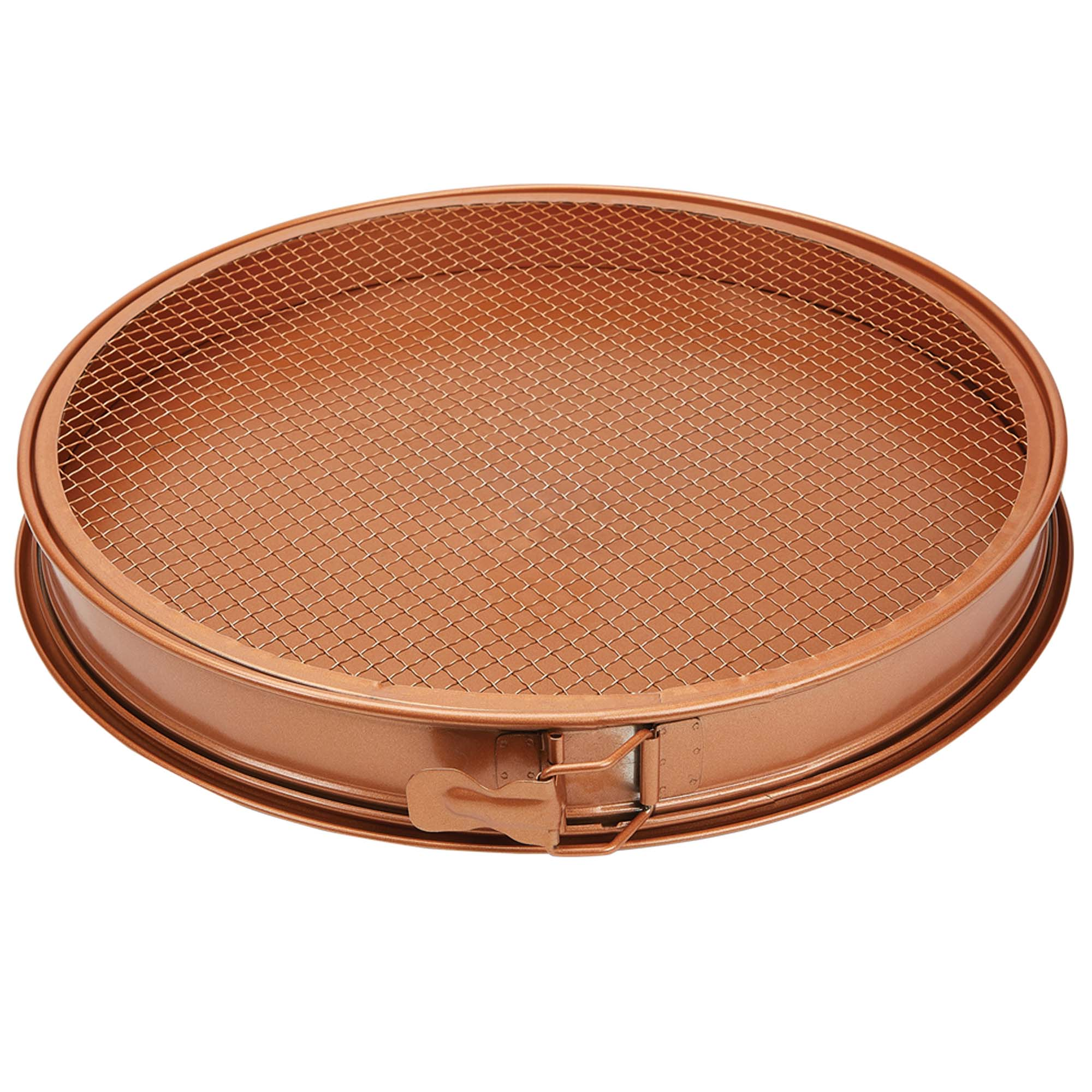 "Copper Chef 16"" Perfect Pizza & Crisper Pan"
