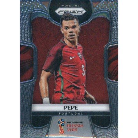 2018 Panini Prizm #157 Pepe Portugal Soccer Card