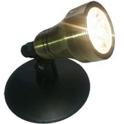 Anjon Manufacturing ABLED4 Brass LED Spot Light - 4 Watt With 4 Led