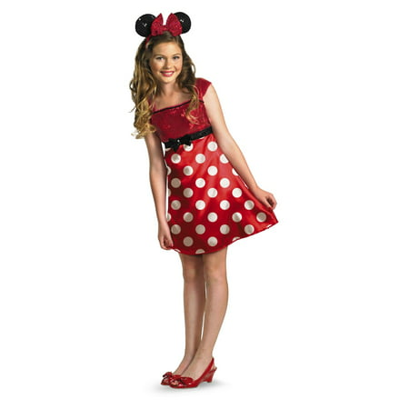 Red Minnie Mouse Tween/ Girls Costume for $<!---->