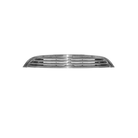 CPP Chrome Shell w/ Black Insert Grille MC1200101 for 2002-2004 Mini (Shell Precision Grilles)