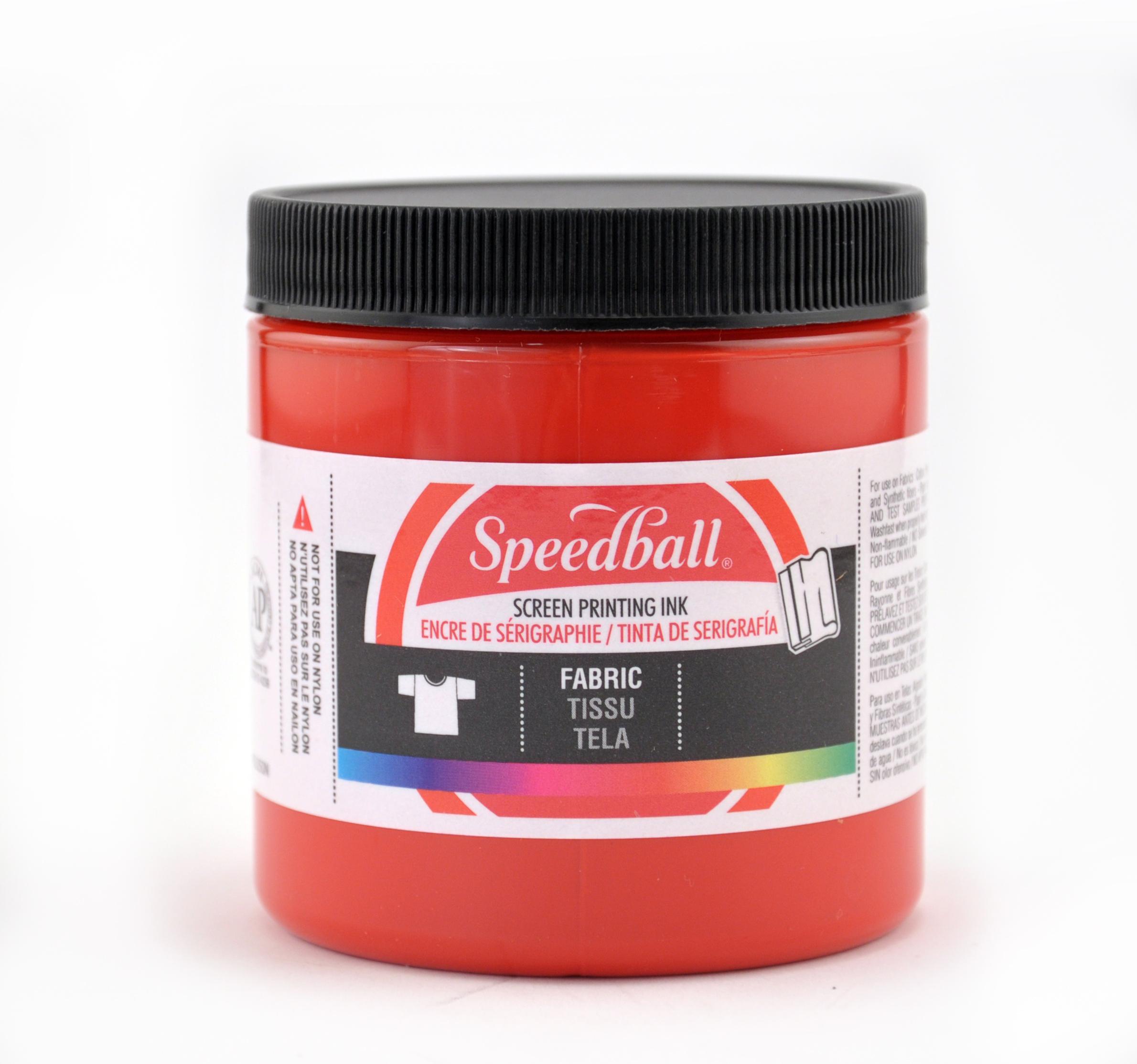 Speedball Water Soluble Screen Printing Ink, 8 oz., Violet