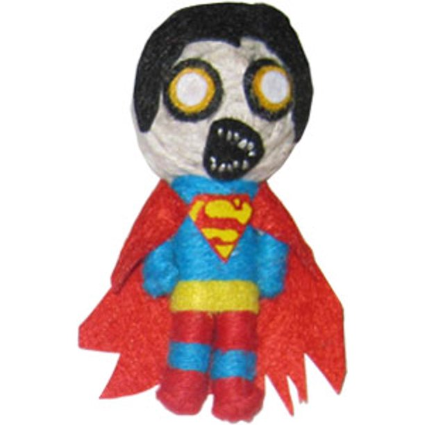 Cell Phone Charm - DC Comic - Superman Zombie New String Doll k-dc-0042-v