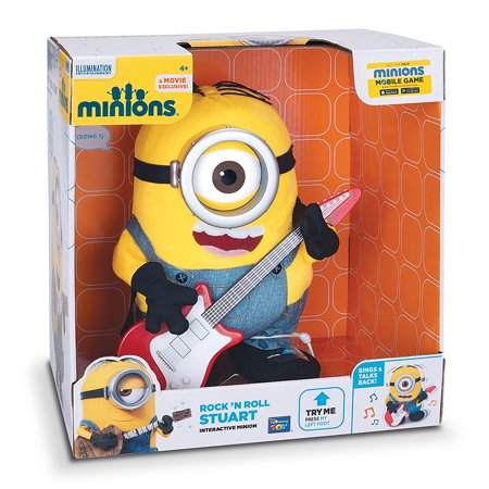 Minions Rock' N Roll Stuart..., By Despicable Me Ship from US (Music Slip)