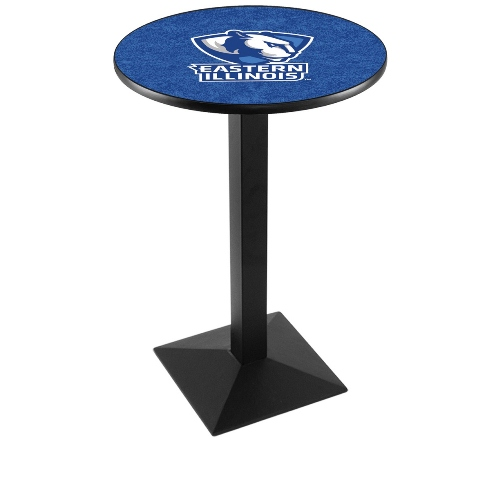 NCAA Pub Table by Holland Bar Stool, Black - EIU Panthers, 42 - L217