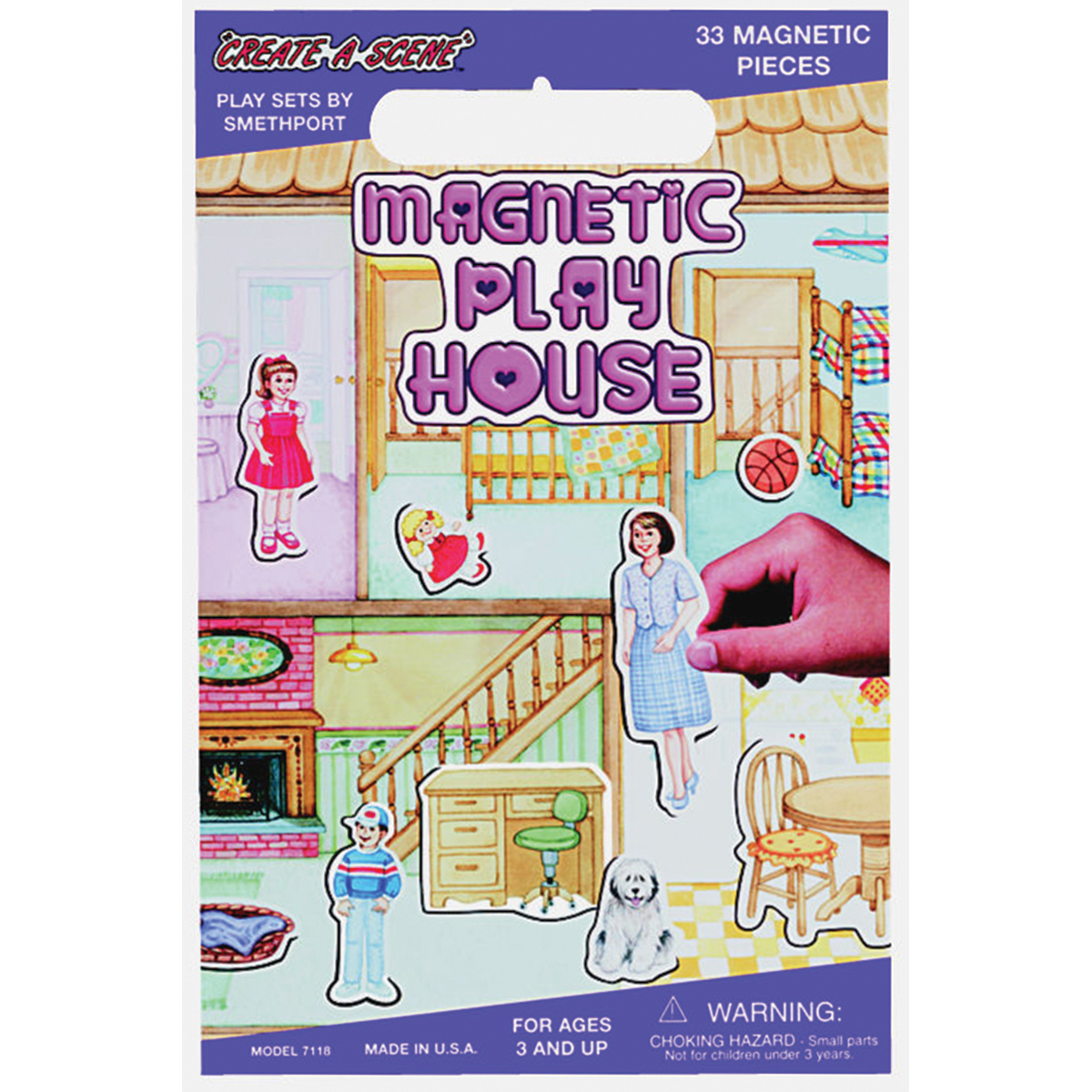 Magnetic Create-A-Scene-Playhouse