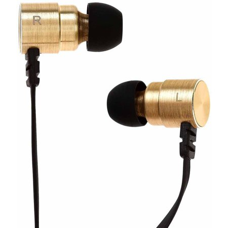 Symphonized MTL Dual Driver Heavy Bass Premium In-Ear Noise-Isolating Headphones with - Dual Driver Headphones