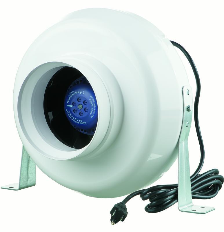 "Plastic Centrifugal Ventilation Fan 6"" Duct"
