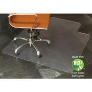 ES Robbins Natural Origins 36 x 48 Chair Mat for Hard Floor, Rectangular with Lip