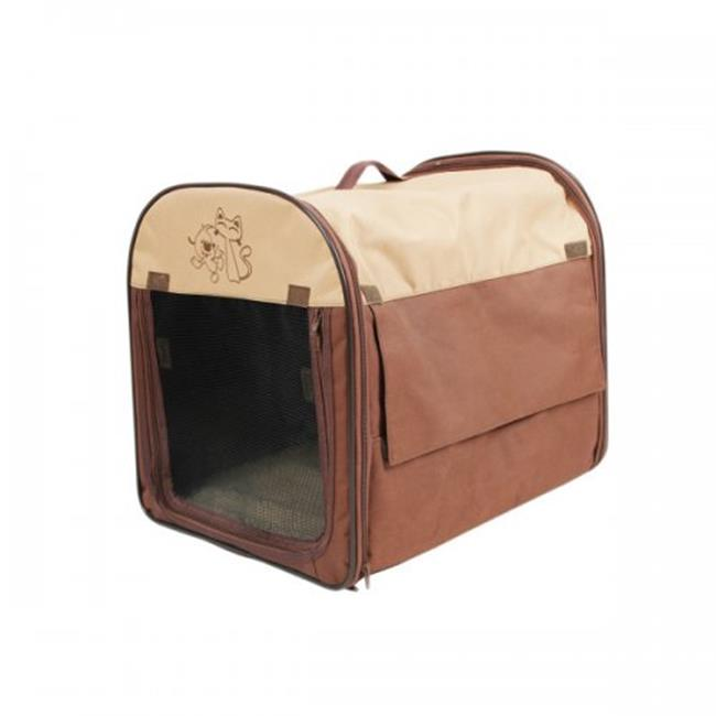 Bulk Buys OD943 Pet Carrier Bag, Brown & Beige - image 1 de 1