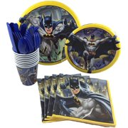 Batman Birthday Party Supplies Pack For 8 Guests