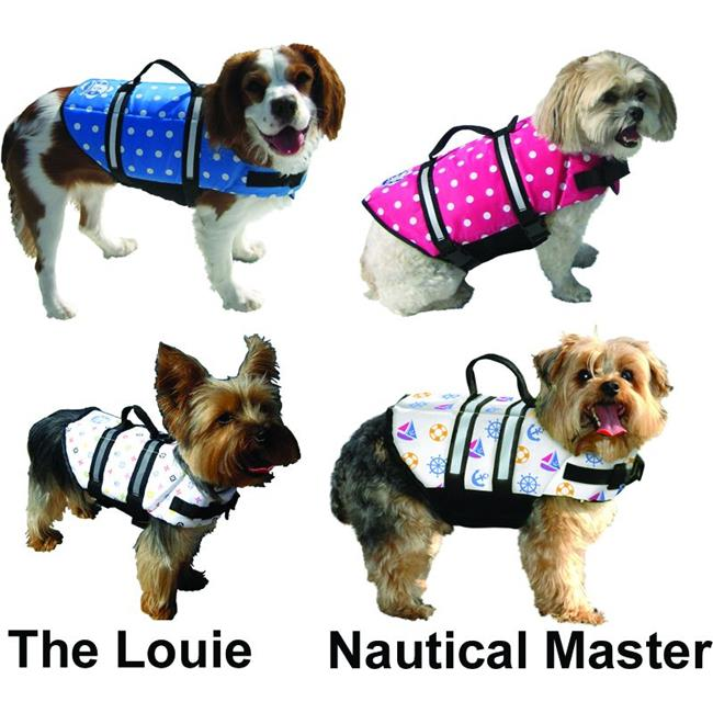 Lorenz and Jones Marine Distributors PP1400 DOGGY VEST M PINK POLKADOT
