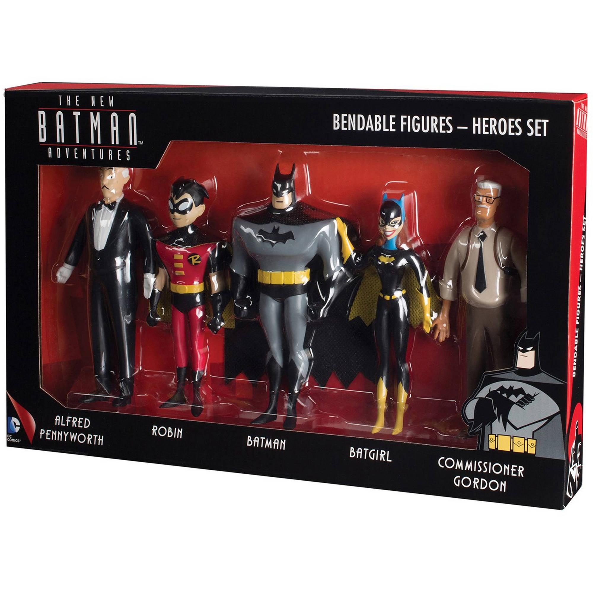 DC Comics New Batman Adventures Bendable Action Figure Boxed Set