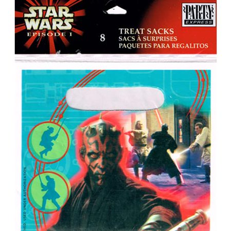 Star Wars 'Episode I' Favor Bags (8ct) (Star Wars Favor Bags)