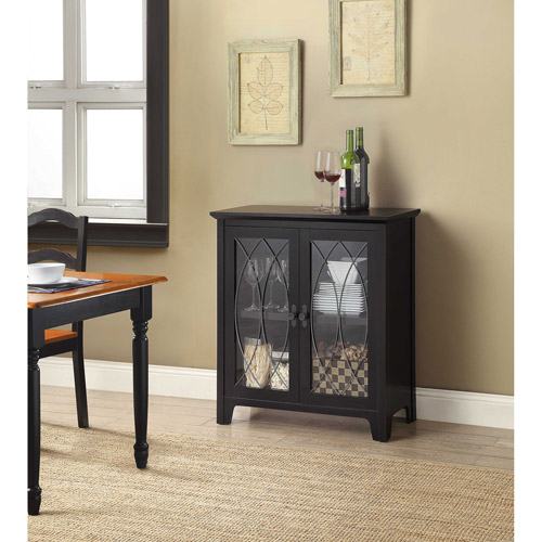 Whalen Dining and Accent Cabinet, Black
