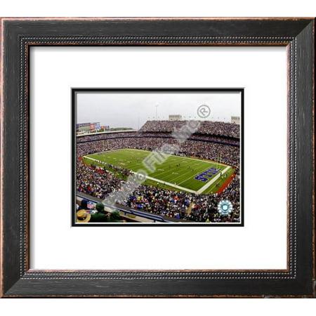 Ralph Wilson Stadium 2008 Framed Photographic Print Wall Art  - 18x16
