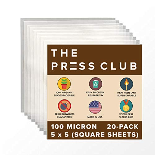 Zero Blowout Guarantee 25 Pack Premium Nylon Tea Filter Press Screen Bags 3 x 6 50 Micron All Micron /& Sizes Available