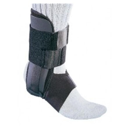 - PROCARE Ankle Support  Hook and Loop Closure for Left or Right Foot  Universal, Black 1 Count