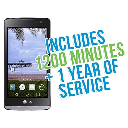 Lg Sunset 4 5   4G Lte Android 5 0 Tracfone With 1200 Minutes Texts Data  Triple Minutes For Life