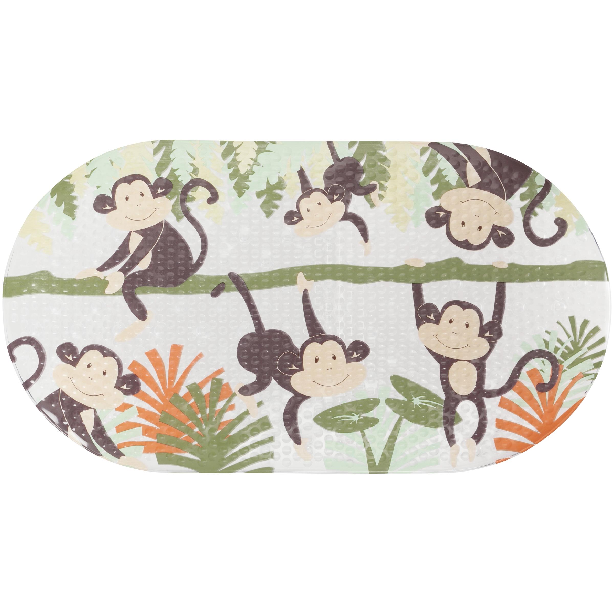 Mainstays™ Kids Monkey Cushioned Bath Mat