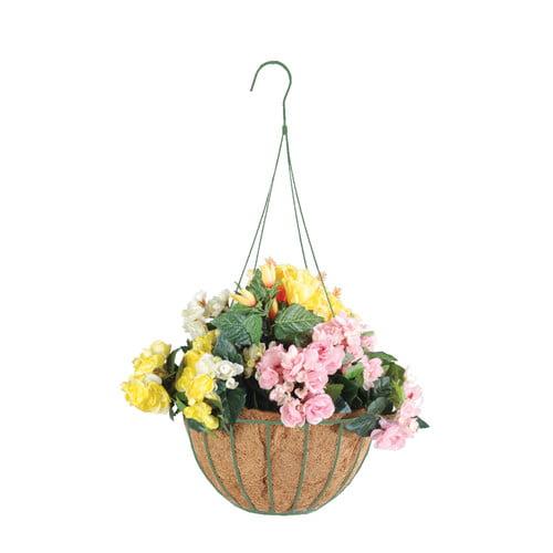 Arcadia Garden Products Coco Round Hanging Basket