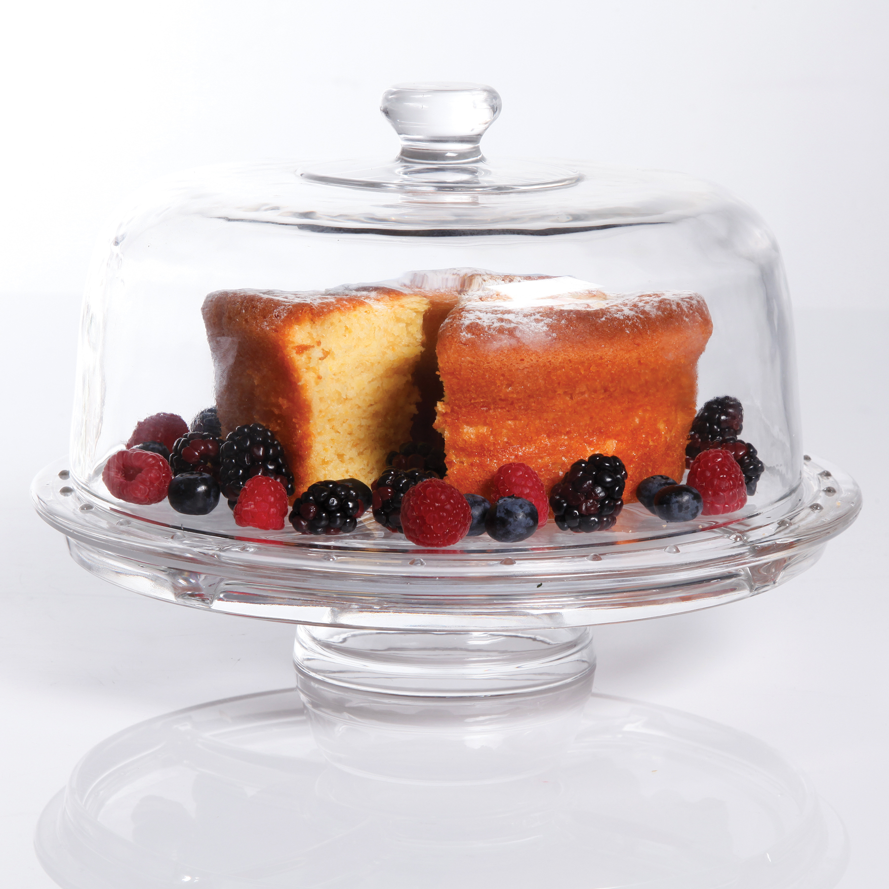 2 in 1 Cake Serving Plate
