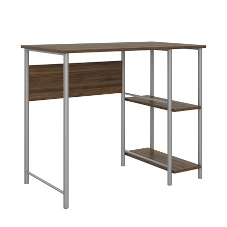 Mainstays Basic Student Desk, Walnut