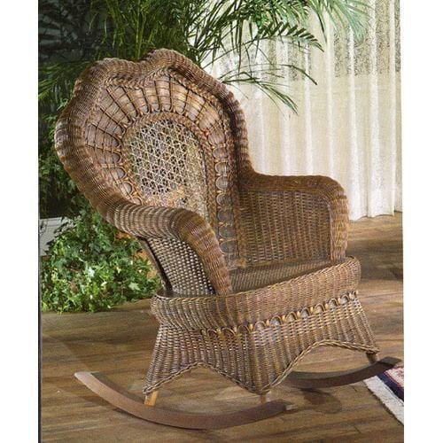 Serpentine Rocking Chair Indoor Covered Porch Walmart