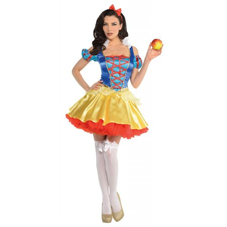 Snow White Adult Costume - Large (Huntsman Snow White Costume)