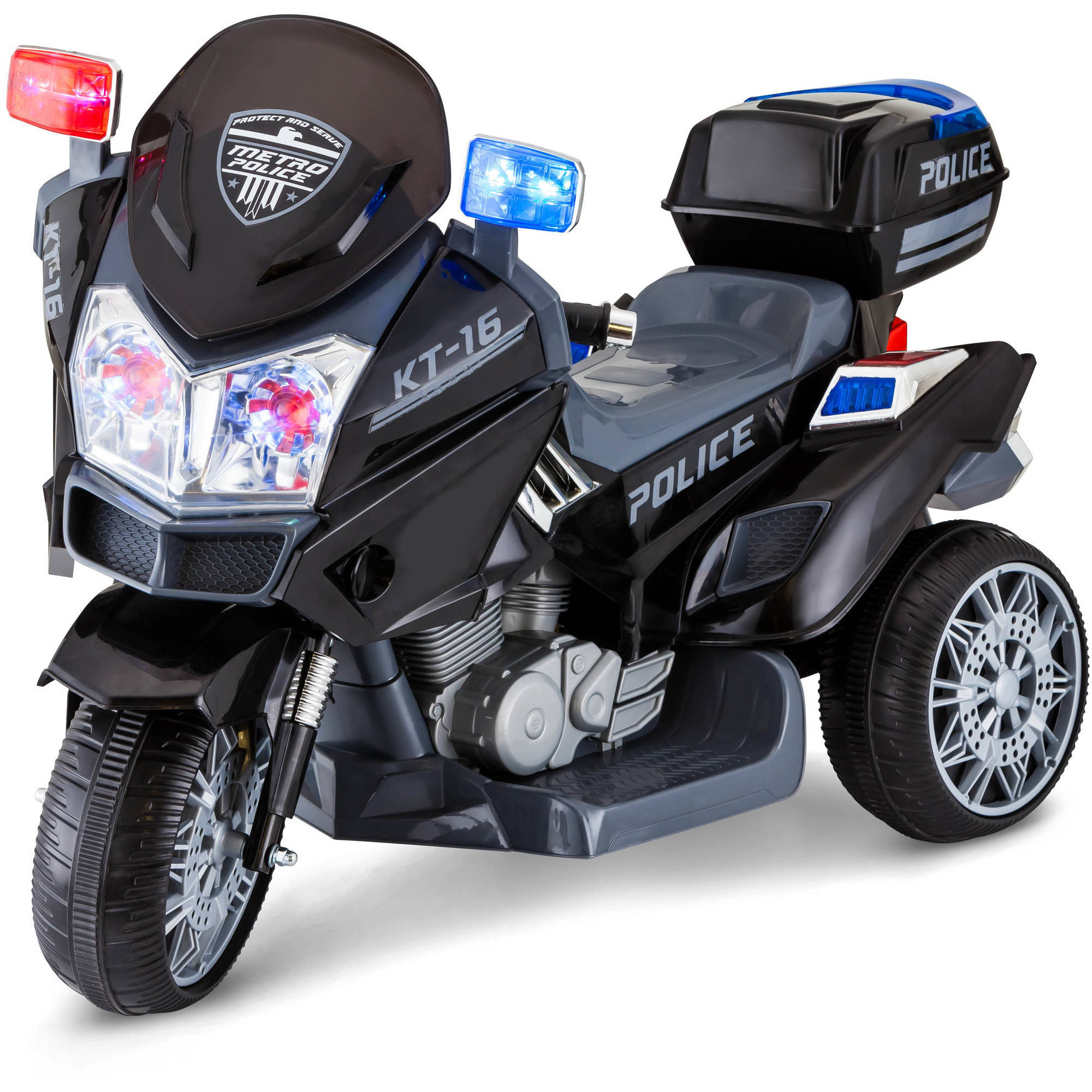 6V Police Trike Ride-On by Pacific Cycle