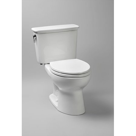 Toto Drake Elongated Two Piece Toilet CST744ERN#01 Cotton White