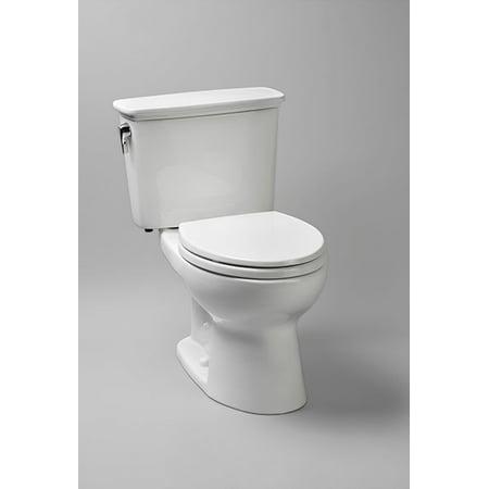 Toto Drake Elongated Two Piece Toilet CST744ERN#01 Cotton White