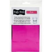 "WOW! Fab Foil 4""X28""-Pink"