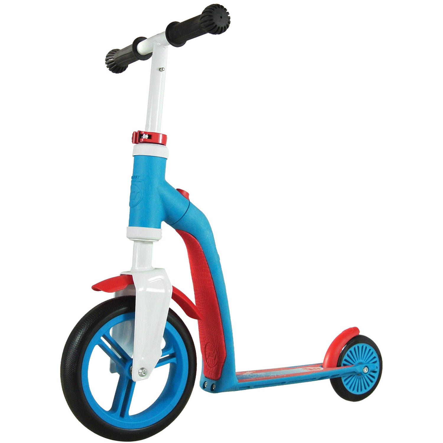 Schylling Scoot and Ride Highway Ride-On, Blue/Red