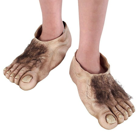 Frog Feet Costume (Hobbit Feet Child Lord of the Rings Bilbo Baggins Frodo Foot Covers Boys)