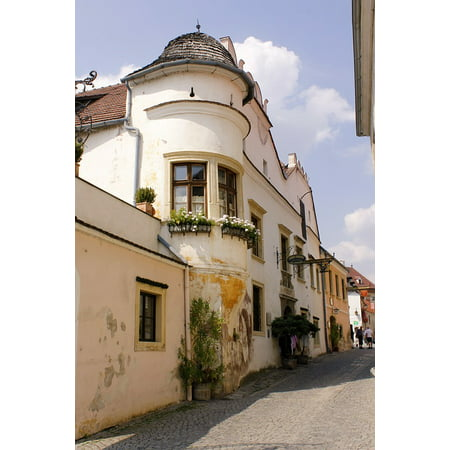 Framed Art For Your Wall Eng Romantic Alley Old Town 10x13 Frame