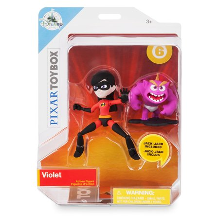 Disney Store Violet Jack-Jack Action Figure Set PIXAR Toybox Incredibles 2 New