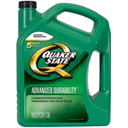 quaker state motor oil advancd durability 5 qt 5w 20