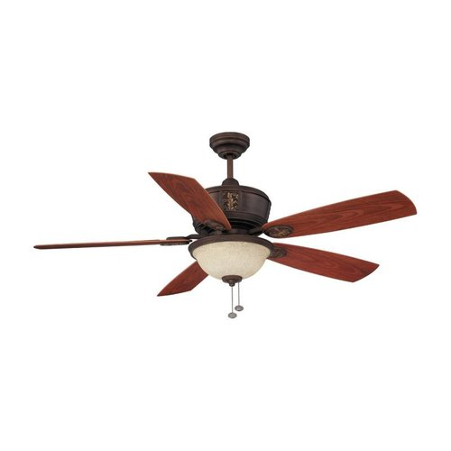 Litex E-BT52ABZC5C1S 52-in 3-Light Molokai Ceiling Fan