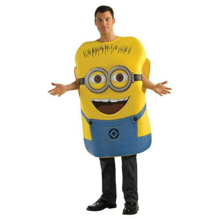 Despicable Me Minion Jorge Costume Adult Standard (Minion Diy Halloween Costume)