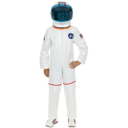 White Astronaut Suit Kids Costume