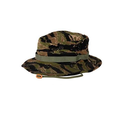 Propper Boonie Cotton/Ripstop Sun Hat, Size 7 1/4, Asian Tiger