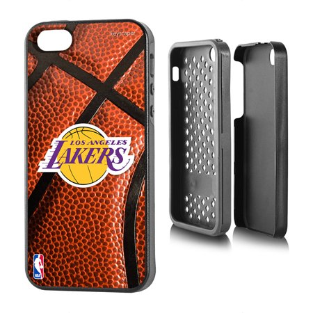 Los Angeles Lakers Basketball Design Apple iPhone 5 5S Rugged Case by Keyscaper by