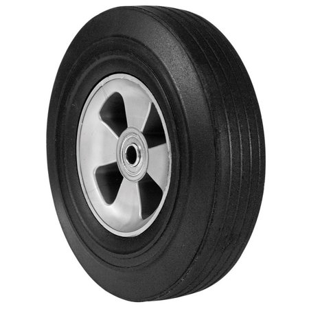 Arnold 490-323-0004 Hand Truck Wheel, Plastic with Rubber Tire, 10 x 2-3/4-In. - Quantity 1