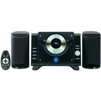 NAXA Electronics NAXNS435B NAXA Electronics Digital CD Microsystem with AM/FM Radio